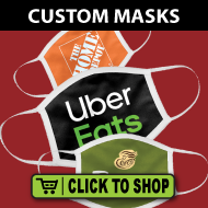 Branded Face Masks - Swag Giveaways